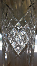 WATERFORD crystal ASHBOURNE pttrn FOOTED VASE