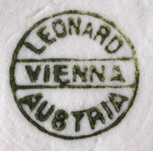 "LEONARD VIENNA AUSTRIA All White pattern Salt Dip -Set of Four (4) 1-7/8"" x 1/4"""