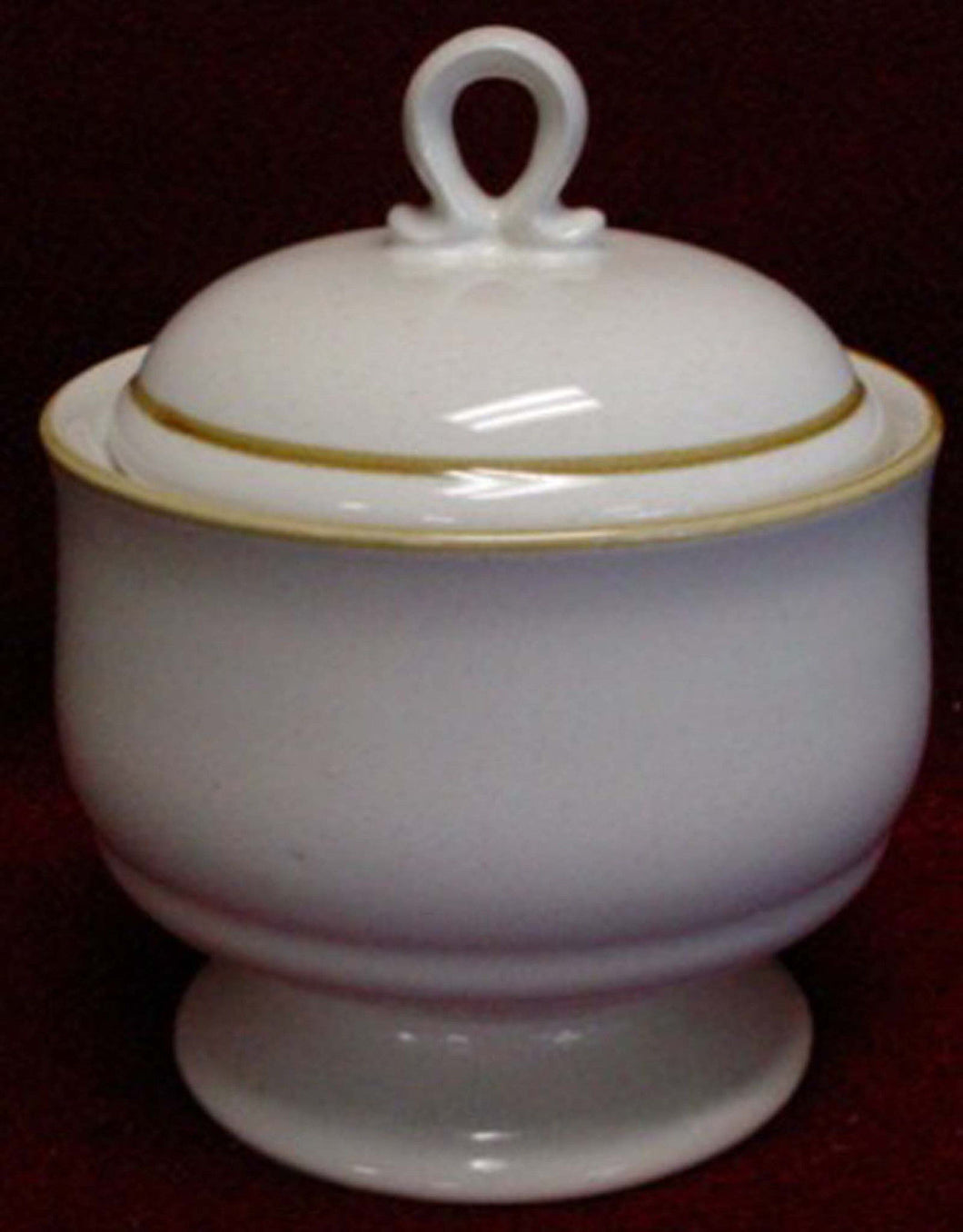 MIKASA china STONE HARVEST KD100 pattern Sugar Bowl & Lid