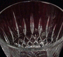 MIKASA crystal OLD DUBLIN pattern WINE Goblet or Glass 6-1/2""