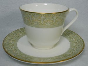 ROYAL DOULTON china SONNET H5012 pattern Cup & Saucer Set - 3""