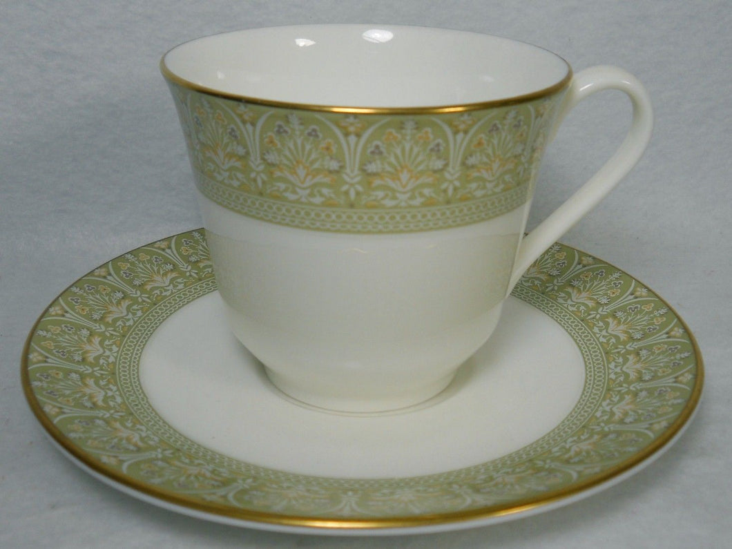 ROYAL DOULTON china SONNET H5012 pattern Cup & Saucer Set - 3