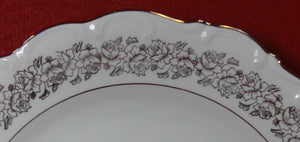 CATHEDRAL Germany china BRIDAL ROSE pattern Fruit Dessert Berry Bowl - 5-1/8""