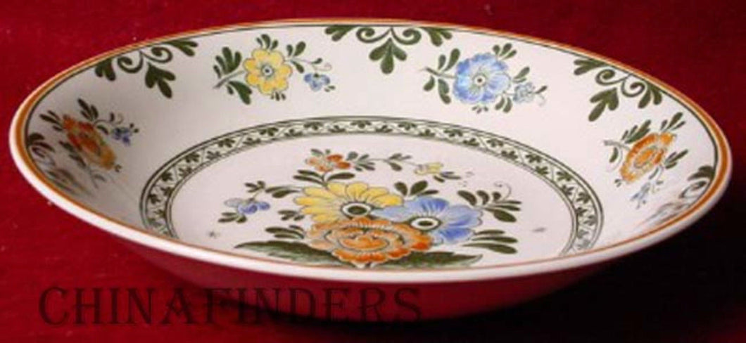 VILLEROY & BOCH china ALT AMSTERDAM pattern Coupe Soup or Salad Bowl - 8
