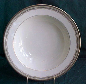 MIKASA china WILSHIRE LAN26 pattern Round Vegetable Serving Bowl @ 10 1/4""