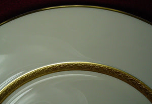 HAVILAND china CRILLON IVORY pattern SALAD PLATE 7-5/8""
