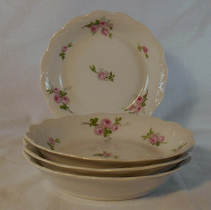 BORGFELDT, GEORGE china BOG52 pattern Set of Four (4) Fruit/Dessert/Sauce Bowls