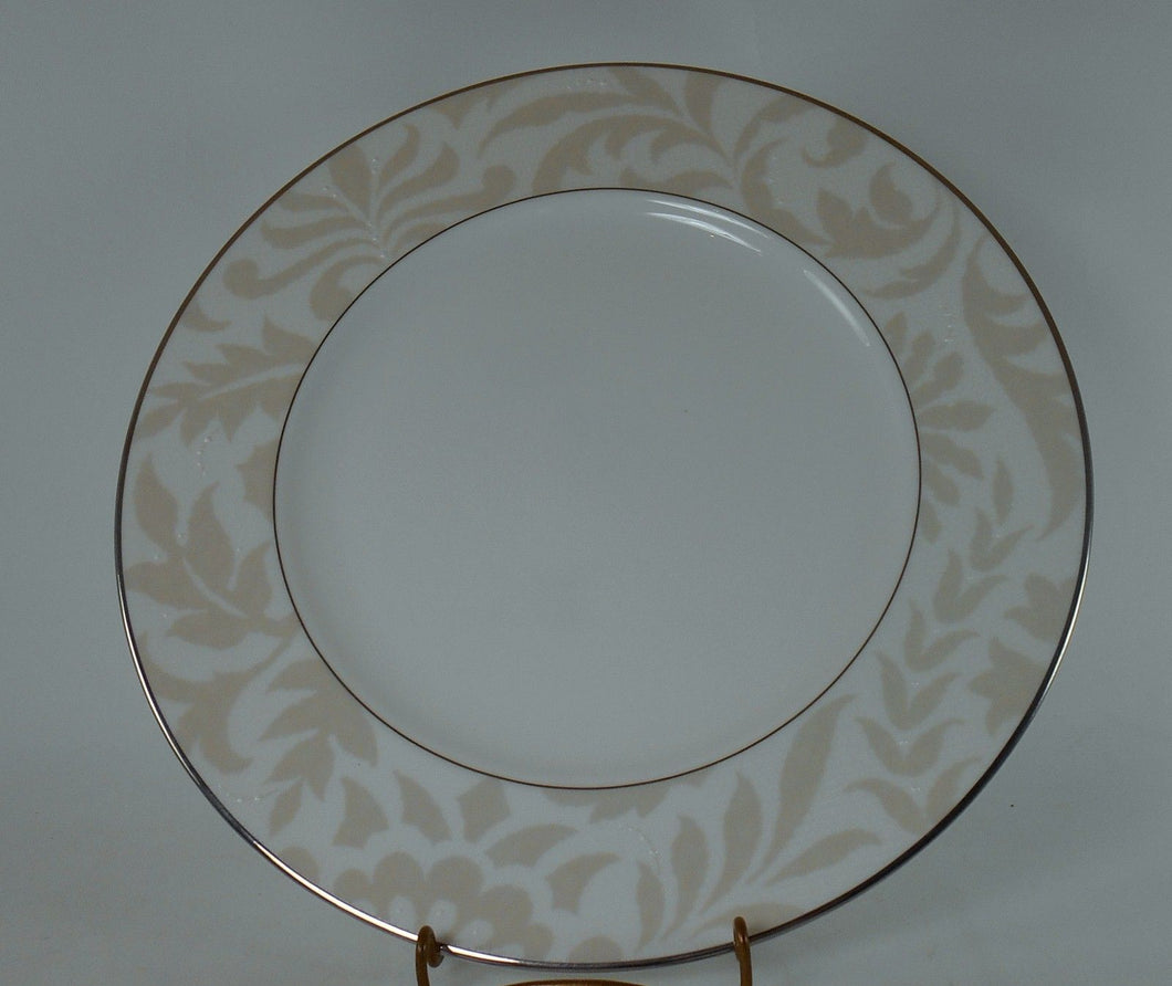 WATERFORD china BIELLA pattern Salad/Dessert Plate @ 8-1/8
