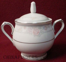NORITAKE china NEWBURY 3601 pattern SUGAR BOWL with LID