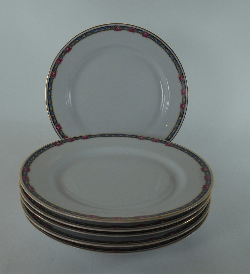 HEINRICH/H & C china HC280 pattern Set of Six (6) Salad Plates @ 7-1/2