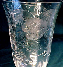 "MORGANTOWN crystal 7690-17 pattern Set of 7 JUICE Glasses 4-3/4"" inches"