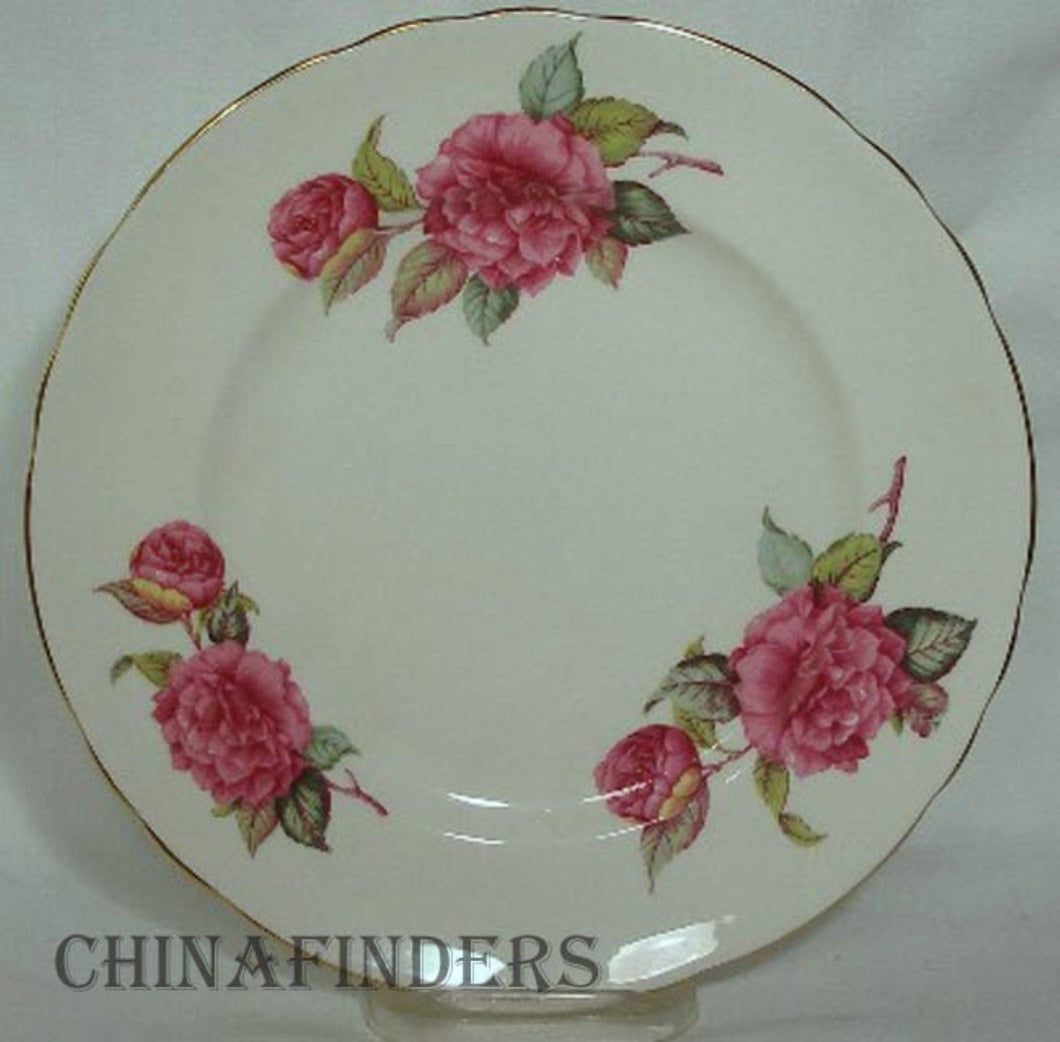 ROYAL TUSCAN china CAMELLIA pattern Salad or Dessert Plate @ 8-1/4