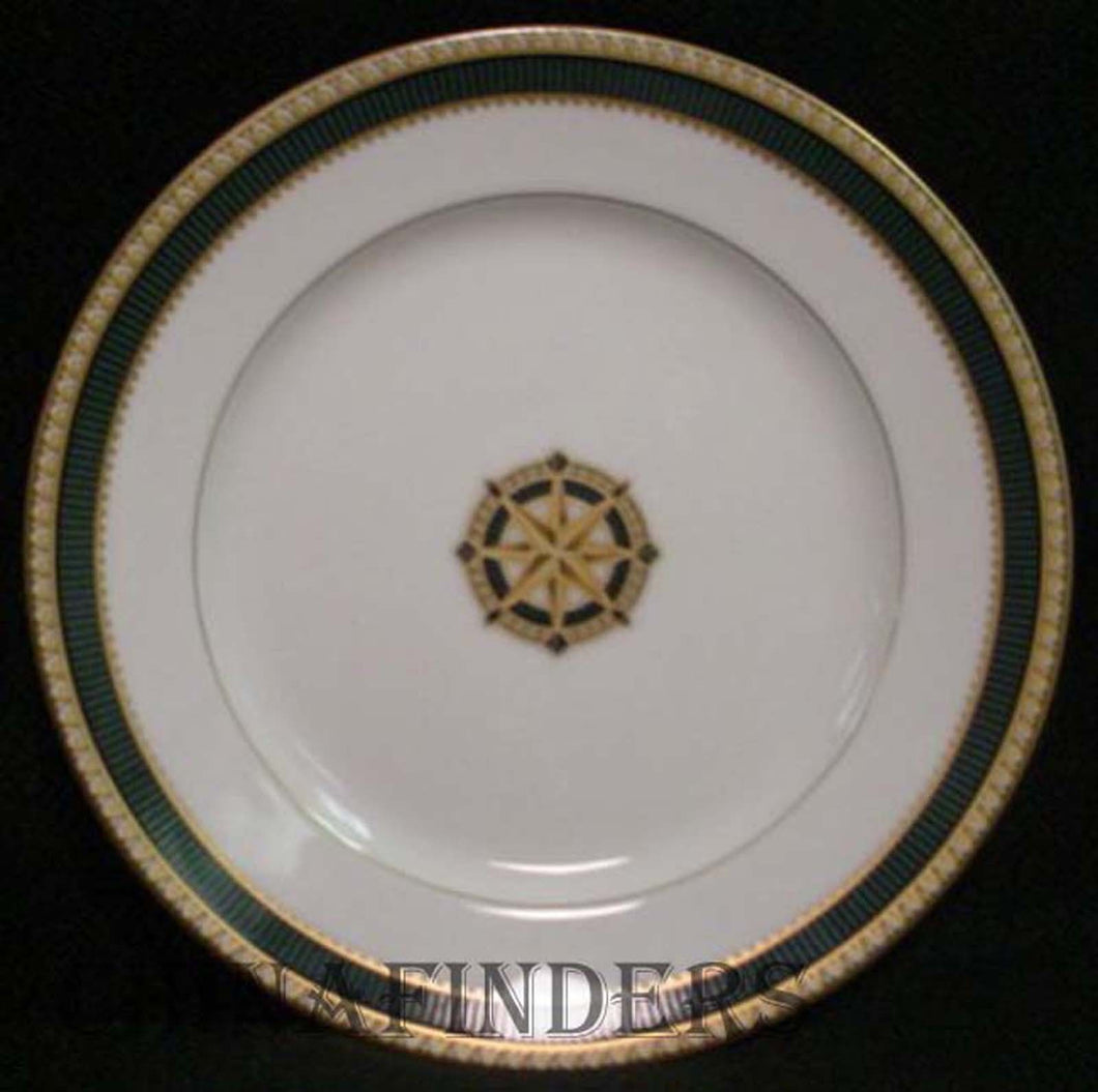 FITZ & FLOYD china BARRINGTON pattern Accent Salad Plate @ 8 1/4