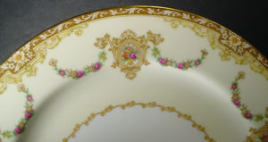 NORITAKE china CAMILLIA pattern No # BREAD PLATE 6-1/2""