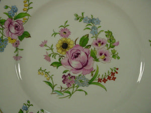 SYRACUSE china PORTLAND pattern DINNER PLATE - Set of Two (2) - 10""