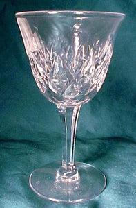 "STUART crystal PARK LANE pattern LIQUOR COCKTAIL Glass 4-3/4"" inches"