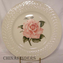 HAVILAND New York china ROSE pattern Dinner Plate @ 10-7/8""