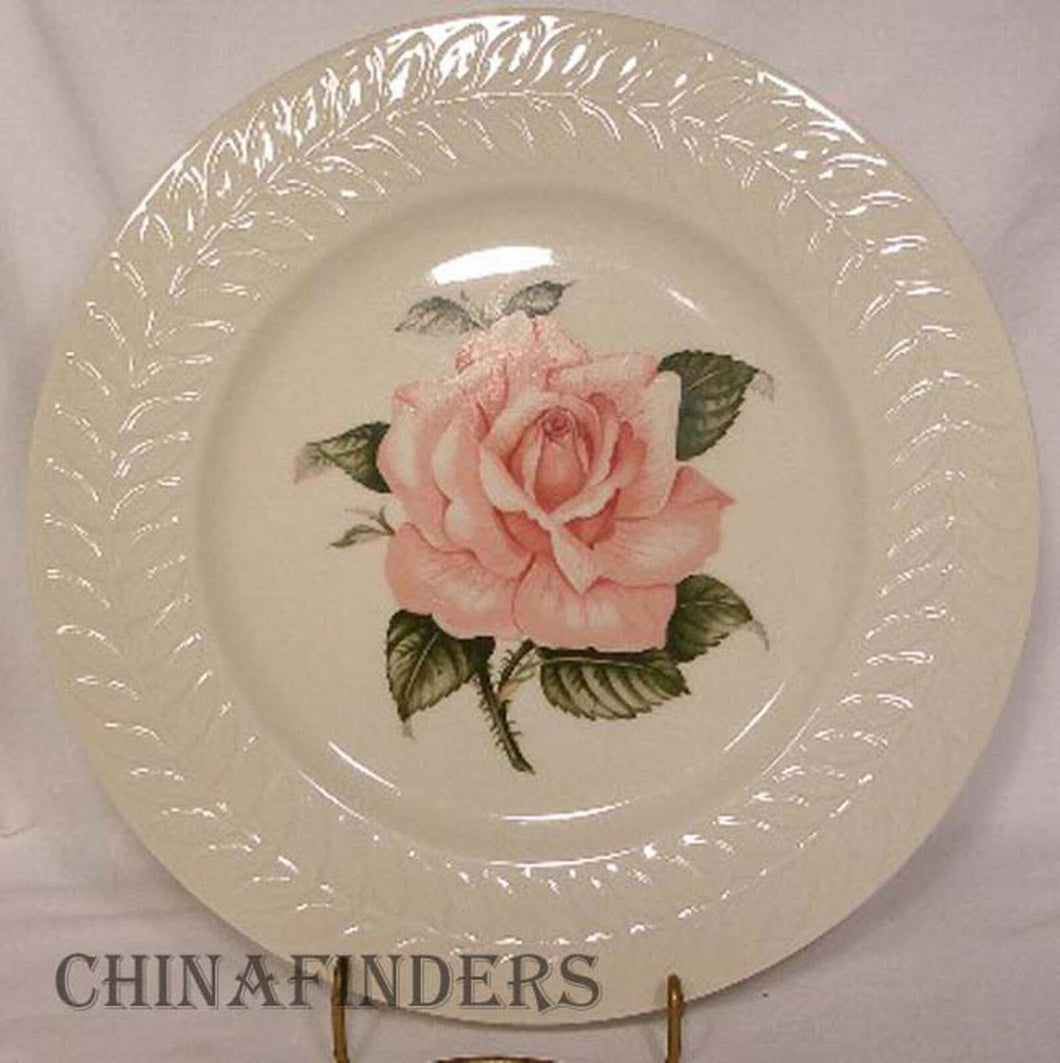 HAVILAND New York china ROSE pattern Dinner Plate @ 10-7/8