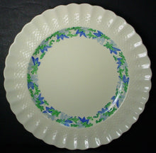 SPODE china VALENCIA S/1248 Blue/Green DINNER PLATE 10-1/2""