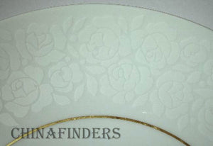 "THOMAS Germany china ALENCON pattern DINNER PLATE 10-1/2"" Raymond Loewy"