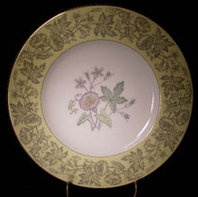 WEDGWOOD china WILDFLOWER YELLOW WD3998 pattern Salad Plate @ 8""