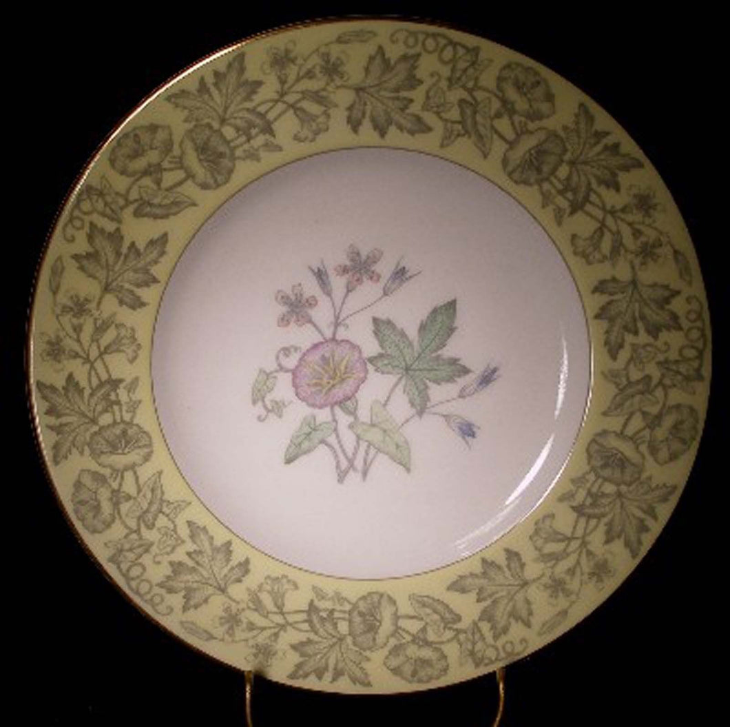 WEDGWOOD china WILDFLOWER YELLOW WD3998 pattern Salad Plate @ 8