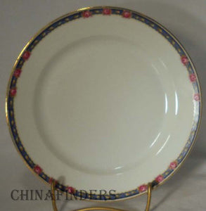 "HEINRICH/H & C china HC280 pattern Set of Six (6) Salad Plates @ 7-1/2"" - wear"