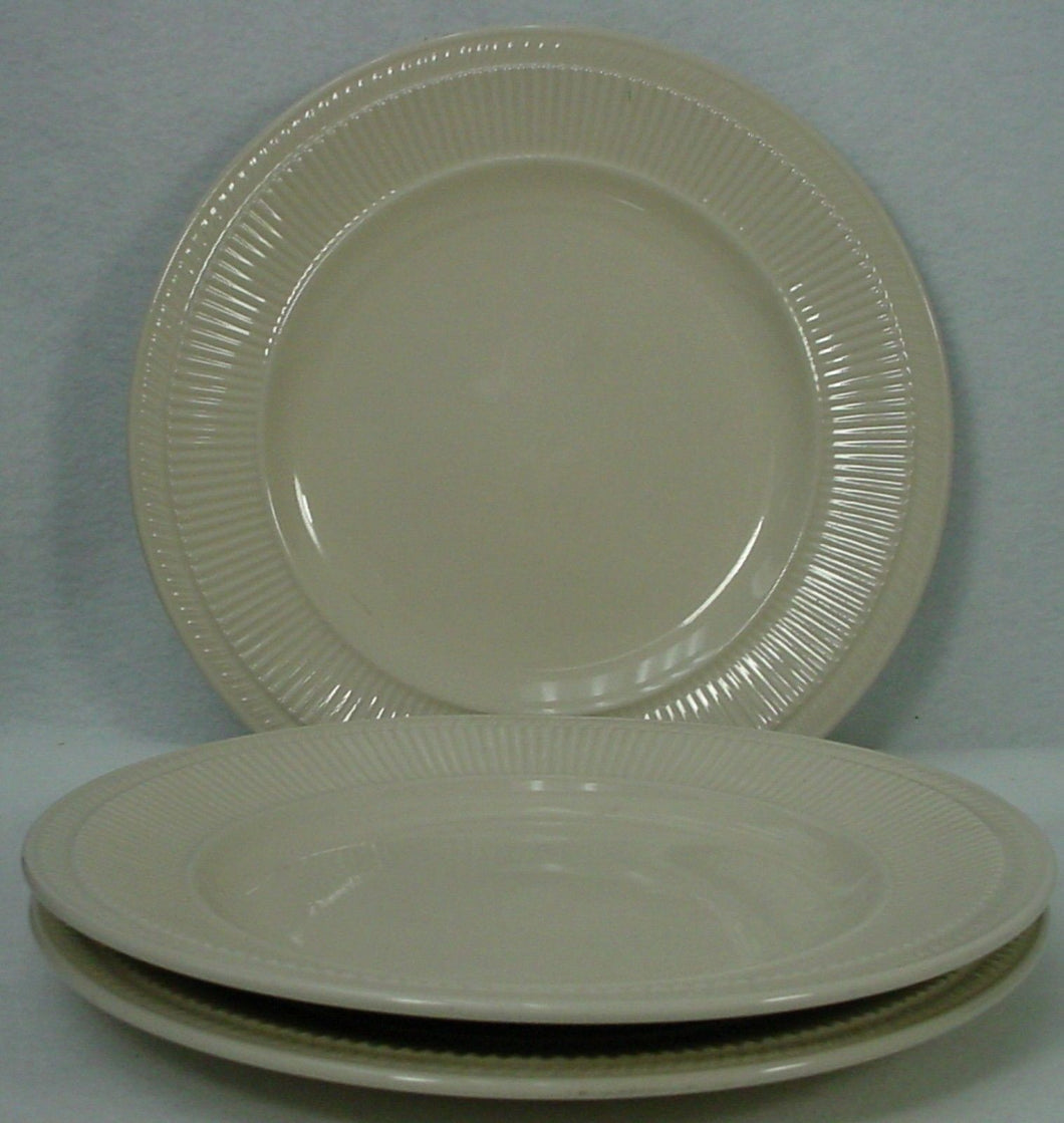 ULTIMA china ULH1 pattern Set of Three (3) Dinner Plates @ 10-1/4