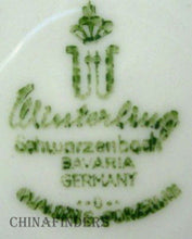 WINTERLING Bavaria EMPRESS PLATINUM pattern Soup or Salad Bowl @ 7-3/4""