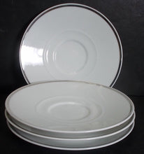 BLOCK china CHATEAU D'ARGENT pattern Set of Four (4) Saucers