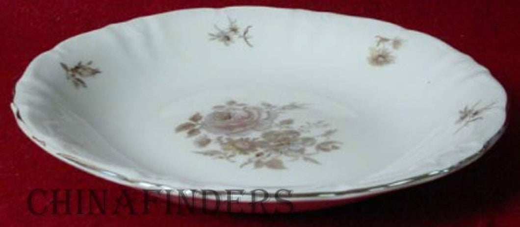WINTERLING Bavaria EMPRESS PLATINUM pattern Soup or Salad Bowl @ 7-3/4