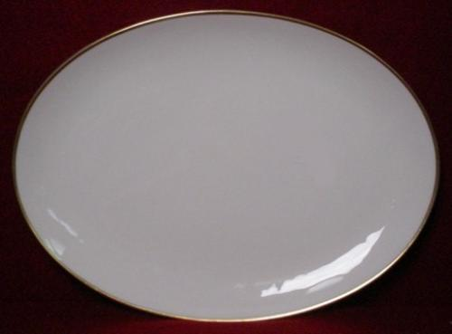 FLINTRIDGE china HUNTINGTON Oval Serving Platter