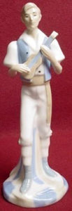 PALES porcelain Spain BOY PLAYING CHARANGO figurine