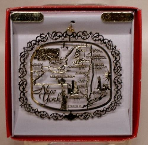 JACKSON PACIFIC New York State Christmas ORNAMENT