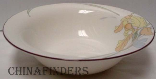 NORITAKE china CAFE DU JOUR 9094 pattern CEREAL or Dessert BOWL - 7