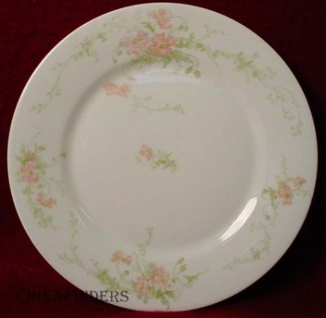 BERNARDAUD china FLORALE pttrn BREAD PLATE