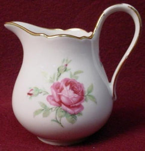"WINTERLING china WIG1132 ""RED ROSE"" pattern Creamer, Cream Pitcher or Jug"