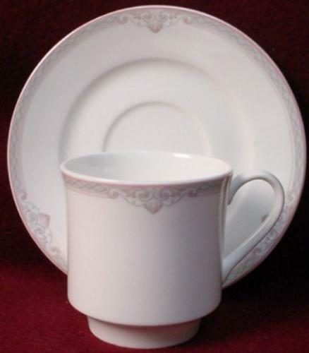 LENOX china HATTERAS 7822 pattern CUP & SAUCER Set - 3