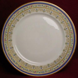 Wm GUERIN china NO NUMBER pattern SERVICE PLATE - 11""