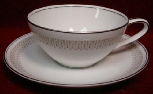 NORITAKE china LESLIE 6004 Cup & Saucer Set