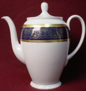 ROSENTHAL china DYNASTY cobalt blue COFFEE POT & Lid