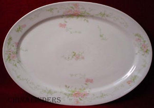 BERNARDAUD china FLORALE pttrn OVAL SERVING PLATTER
