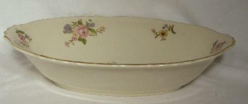SYRACUSE china PORTLAND Oval Vegetable Serving Bowl 10-3/4