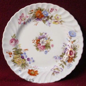 AYNSLEY china SUMMERTIME pattern 2! BREAD PLATE s