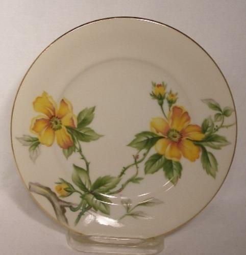 MEITO china SUN GLORY pattern Bread & Butter Plate