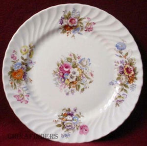 AYNSLEY china SUMMERTIME pattern SALAD PLATE
