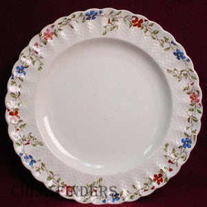 "SPODE china WICKER DALE 2/4088 pattern LUNCHEON PLATE 8-3/4"" to 9"""