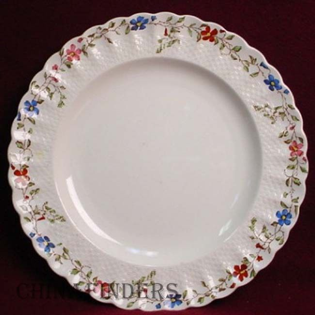SPODE china WICKER DALE 2/4088 pattern LUNCHEON PLATE 8-3/4
