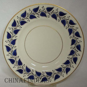 ROYAL Doulton COVENTRY NAVY BLUE V2251 Salad Plate
