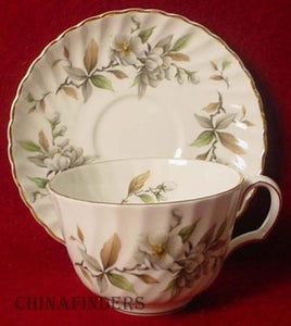 ADDERLEY china ARCADIA GOLD H1648 pttrn CUP & SAUCER